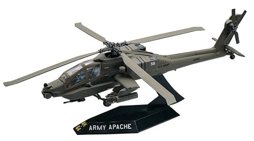 Revell SnapTite Apache Helicopter Plastic Model Kit (Kits Snap Model Together)