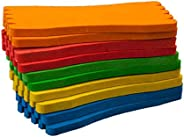 VORCOOL Foam Board Fishing Line Accessories Wrapped Wire Leader Winding Pack of 10 (Mixed Color)