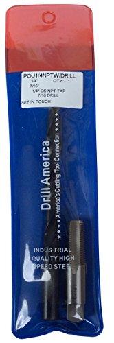 Drill America POU1/4NPTW/DRILL Pou 1/4