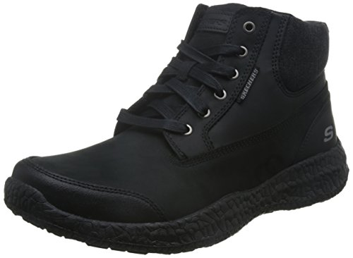 Botas para hombre, color marr�n , marca SKECHERS, modelo Botas Para Hombre SKECHERS 64852S BURSEN- TEVEN Marr�n negro