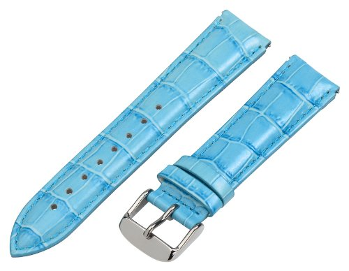 Clockwork Synergy - 18mm x 15mm - (Set of 15) Grain Leather Watch Band fits Philip stein Small by Clockwork Synergy, LLC (Image #5)
