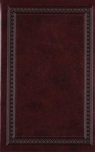 (The Holy Bible: ESV Value Compact Bible, Trutone Mahogany, Border Design)