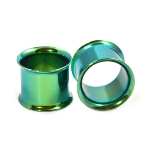 00 double flare metal plugs - 2