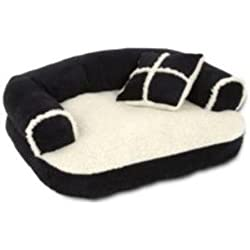 Sofa Pet Bed Dog Cat Furniture w/ Pillow Petmate