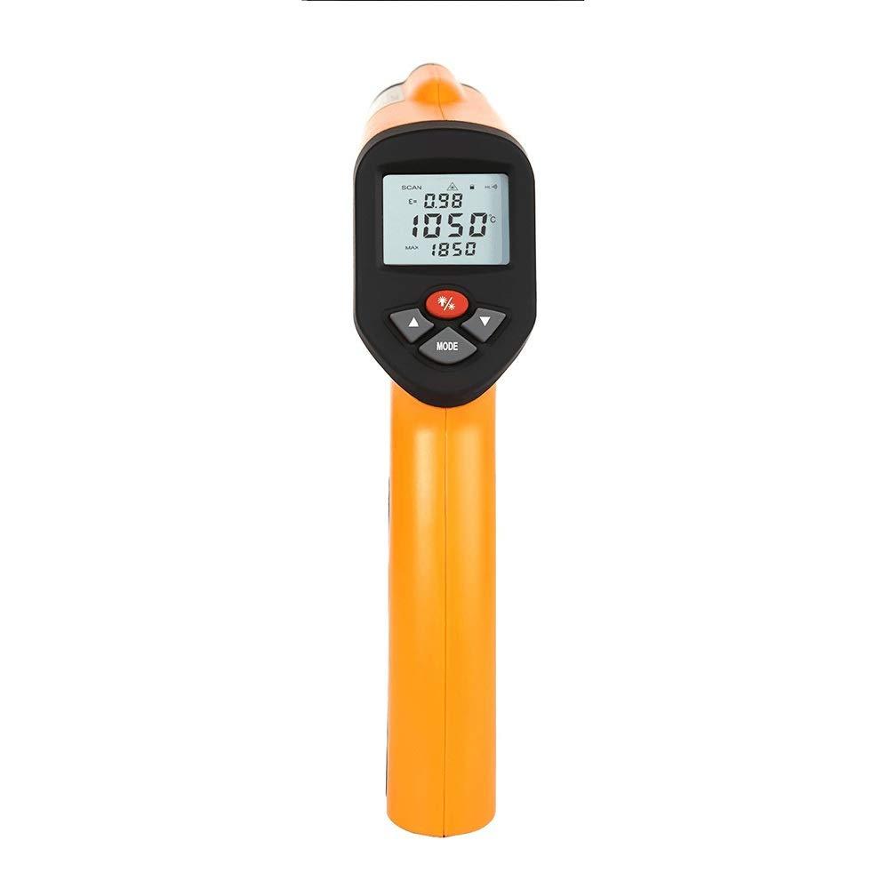 XUNHANG 2250 °C High Temperature Infrared Thermometer HT-6899 Distance Coefficient Ratio: 50:1 Outdoor Measure Distance Coefficient Ratio: 50:1 Outdoor Measure (Size : 26015554 mm) by XUNHANG