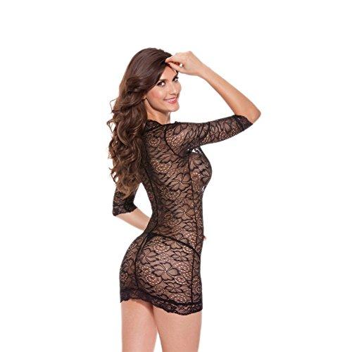LENSTAR SU90065C3 Lace Women Sexy Lingerie - Size XXL