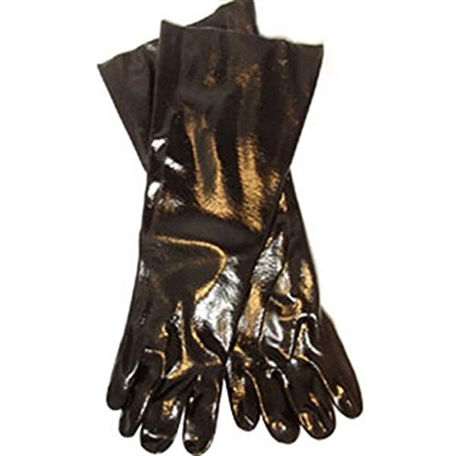 Supported PVC Gloves (Single Dipped, Smooth Finish, 18
