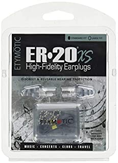 Etymotic High-Fidelity Earplugs, ER20XS Standard Fit, 1 Pair (B00RM6Q7FC) | Amazon Products