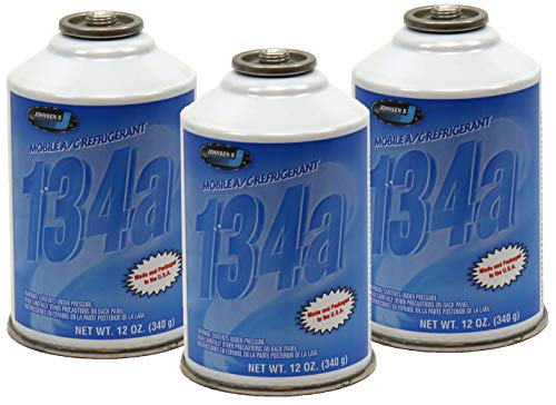 ZeroR R-134a Refrigerant - Made in USA - 12oz Cans (3)