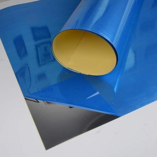 Phayee Adesivi Specchio Riflettente Adesivi murali autoadesivi Soggiorno Cucina Domestica Bagno Decorativo Specchio Riflettente
