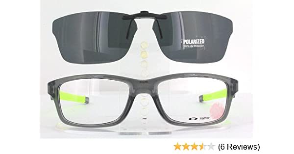 1056186a77 Amazon.com  OAKLEY CROSSLINK OX8030-55X18 POLARIZED CLIP-ON SUNGLASSES  (Frame NOT Included)  Health   Personal Care