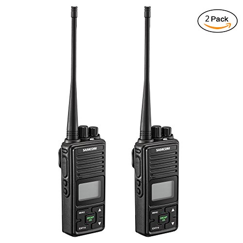 Weather Resistant Digital Keypad (Walkie Talkies Samcom FPCN10A 20 Channel Wireless Intercom with Group Button two way radio,UHF 400-470MHz with 2.5 Miles Range(Pack of 2))