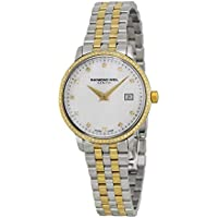 Raymond Weil Toccata Diamond White Mother of Pearl Dial Steel Women's Watch