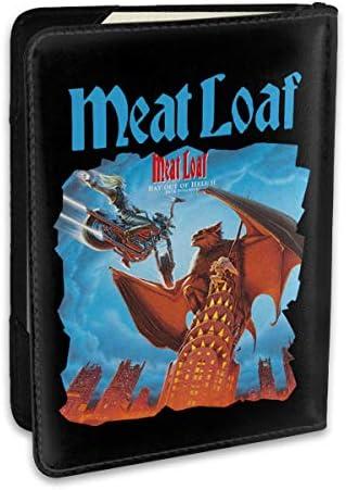 ミート・ローフ 歌手 Meat Loaf Band パスポートケース メンズ 男女兼用 パスポートカバー パスポート用カバー パスポートバッグ ポーチ 6.5インチ高級PUレザー 三つのカードケース 家族 国内海外旅行用品 多機能