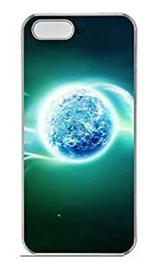 iPhone 5S Case, iPhone 5 Cover, iPhone 5S Space Lunar Hard Clear Cases