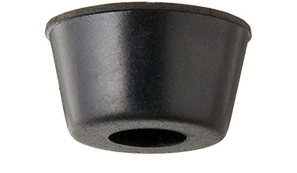 10Pcs 21mm x 12mm Black Conical Recessed Rubber Feet Bumpers Pads AD