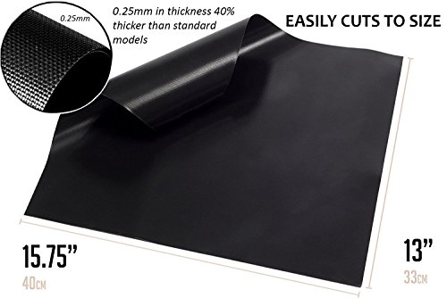 Keswon Oven Liner Bbq Grill Mat Prime For Charcoal Gas