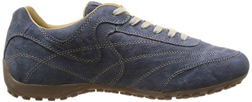 Geox UOMO SNAKE B - zapatilla deportiva de cuero hombre azul - Blau (NAVYC4002)