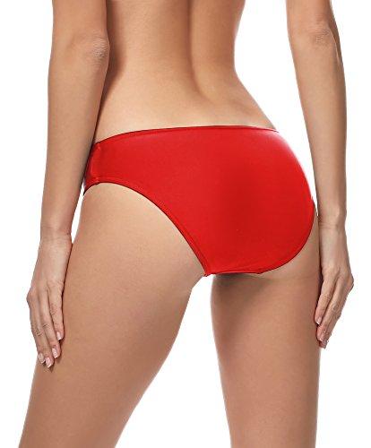 Bikini Msvr1 4186 Style Donna Slip Merry Rosso HIEwAnq