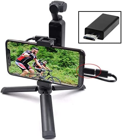 Camera Accessories for OSMO Pocket Hyxメタルハンドヘルド携帯電話クリップブラケット三脚セット拡張アクセサリー付きandroid usbデータケーブル付きdji osmoポケット