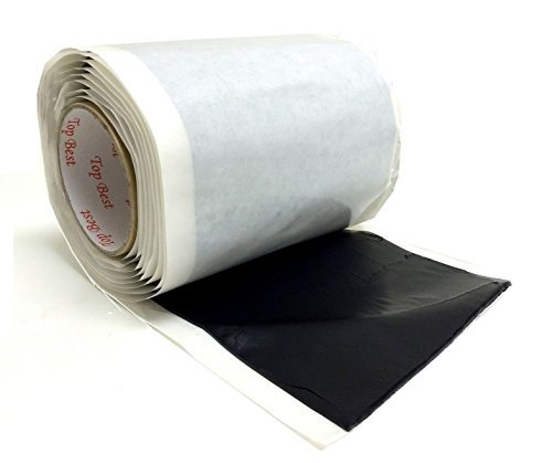 - Self Adhesive 6 1/2 x 10' Insulating Mastic Seal Bishop Tape Direct TV Approve by Perfect Vision