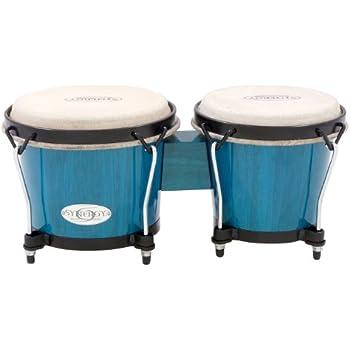 Toca Synergy Series Bongo Set Blue (Blue)