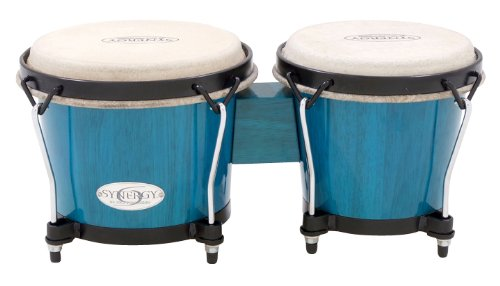 Toca Synergy Series Bongo Set Blue (Blue) by Toca