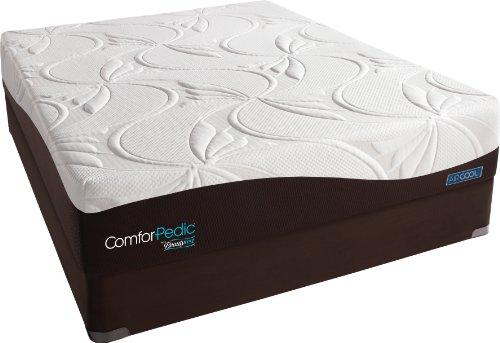 ComforPedic from Beautyrest New Life Plush Firm Memory Foam Mattress Set, Queen Beautyrest World Class Plush