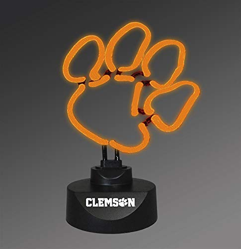(Memory Company NCAA Clemson University Col-CLM-1808Neon Lamp, Multi, One Size )