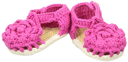 Baby Deer Crochet Gift Fisherman Sandal (Infant), Fuchsia, 1 M US (Fuchsia Crochet)