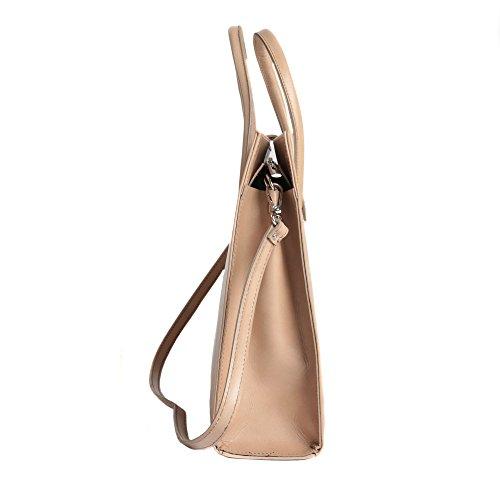 cm d'affaires Porte Cartel italien Italy Boue Femme documents cuir 40x30x10 Made in Handbag en wwA07qcS