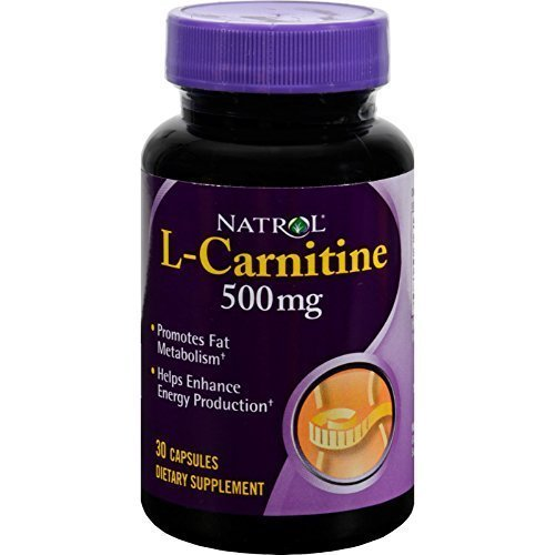 (Natrol L Carnitine 500Mg 30 Cap)