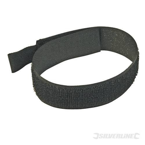 Packs Selection Packs Hook & Loop Cable Ties 10pk 300mm Black Multi-use, nylon hook-and-loop cable ties. Includes eyelets for feeding onto cable. 25mm width. by (Nylon Eyelet)