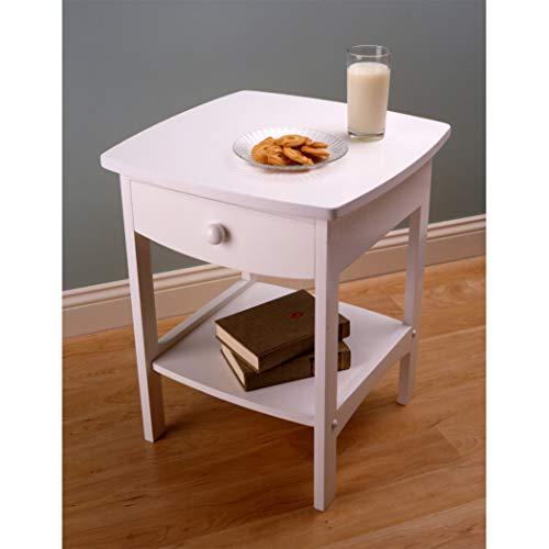 Lexington End Table Finish - Wood & Style Premium Décor Accent Table White Finish