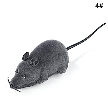 GUOYIHUA Wireless Remote Control RC Rat Toy,Remote Control Electronic RC Wireless Rat Mouse Toy for Cat Dog Pet Novelty Gift