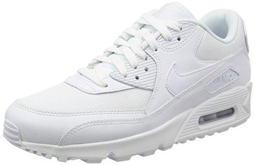 NIKE Men's Air Max 90 Essential, White, US: 12 (Air Mens Nike Max Size 12)