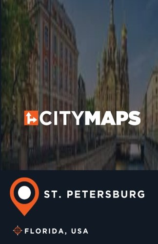 City Maps St. Petersburg Florida, USA