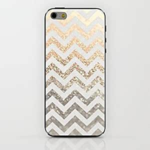 DUR Gold Ripple Pattern hard Case for iPhone 6