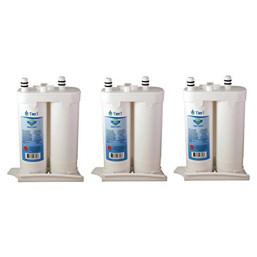 (Tier1 Replacement for Frigidaire WF2CB PureSource2, NGFC 2000, 1004-42-FA, 469911, 469916, FC 100 Refrigerator Water Filter 3 Pack)