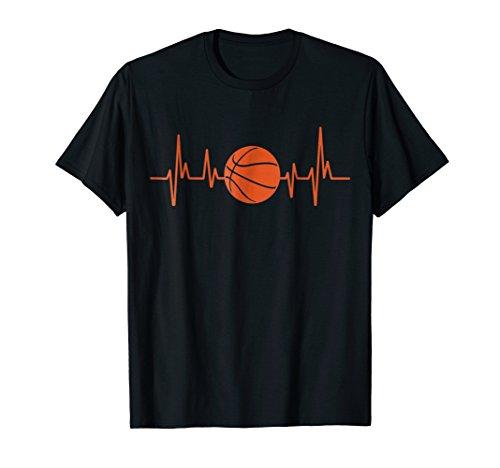 BBall TShirt Heartbeat Basketball TShirt