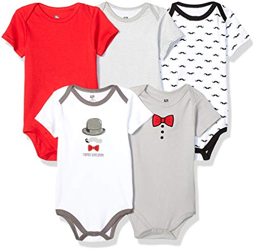 20149cd7 Hudson Baby Unisex Baby Cotton Bodysuits