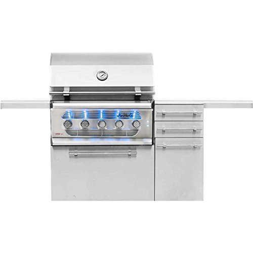 Lp Grill Cart (American Muscle Grill Grilling : Gas Grills American Muscle Grill AMG36-LP-AMG36-CART Freestanding Dual Fuel Wood / Charcoal / Gas Grill, 36-Inch, Propane)