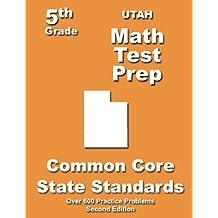 Utah 5th Grade Math Test Prep: Common Core Learning Standards
