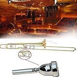 FidgetGear Professional Copper Alloy Plated Trombone Bass Horn Mouth Piece Bass Mouthpiece