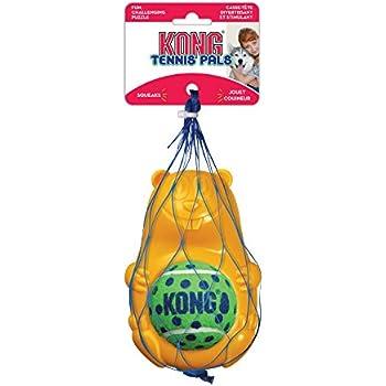 KONG Tennis Pals Beaver Pet Chew Toy, Large