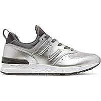 Tênis New Balance 574 Sport Feminino - Tamanho Calçado(34) Cores(prata)