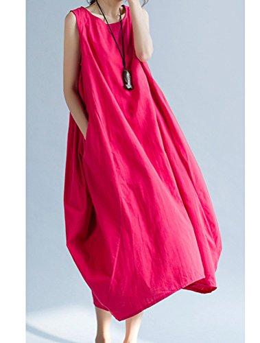 MatchLife - Vestido - para mujer Rojo