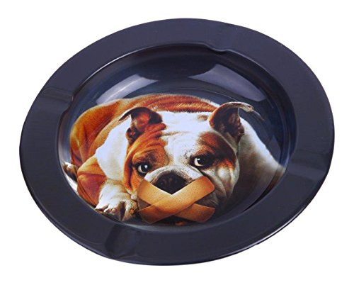 Bulldog-Metal-Cigarette-Cigar-Ashtray
