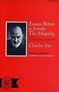 essays before a sonata the majority and other writings