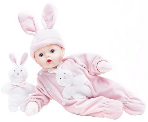 Madame Alexander Dolls Pink Bunny Huggums (Madame Baby Alexander Play Dolls)